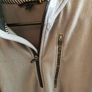 Quarter zip up fleece